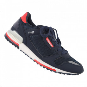 Pantofi sport pentru bărbați cod 9259 Navy/White