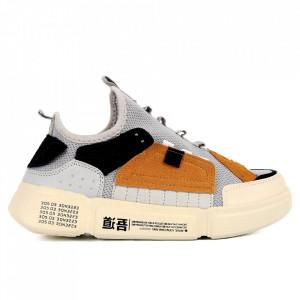 Pantofi Sport pentru bărbați cod BZ044 Yellow
