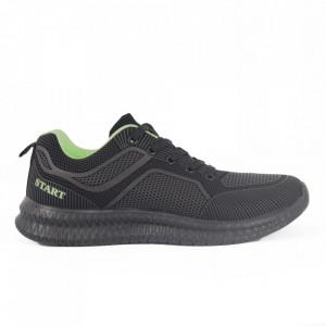 Pantofi Sport pentru bărbați cod F8-4 Black