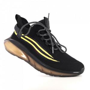 Pantofi sport pentru bărbați cod H03-2 Black