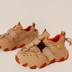 Pantofi Sport pentru dame cod H12 Beige