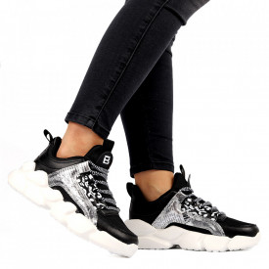 Pantofi Sport pentru dame Cod L304-1 Black