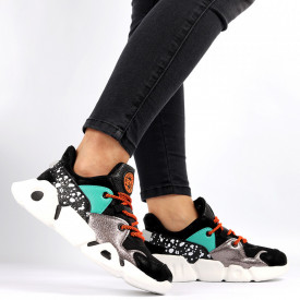 Pantofi Sport pentru dame Cod L3081 Black