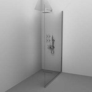 Paravan de duș ALUX BRILL