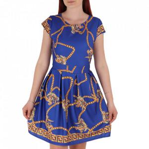 Rochie de vară cod 8195 Blue