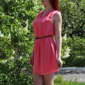 Rochie de vară cod NN89 Pink