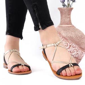Sandale cu talpă joasă cod M39 Black