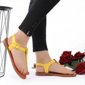 Sandale cu talpă joasă cod M41 Yellow