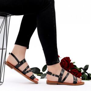 Sandale cu talpă joasă cod M42 Black