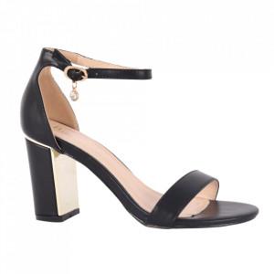 Sandale din piele ecologică cod OD339 Black