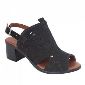Sandale din piele naturală cod 034 Black