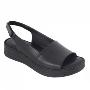 Sandale din piele naturală cod 103 Black