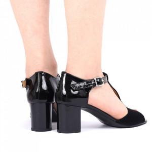 Sandale din piele naturală cod 248 LN-V - Sandale pentru dame din piele naturală  Închidere prin baretă - Deppo.ro