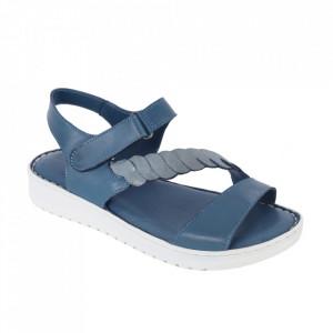 Sandale din piele naturală cod 602 Kot Mavi