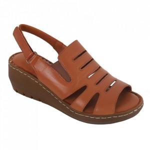 Sandale din piele naturală cod 634 Taba