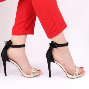 Sandale pentru dame cod 228 Gold