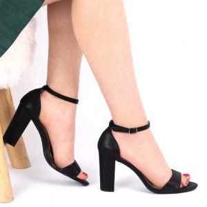 Sandale pentru dame cod 8901 Black
