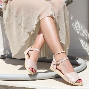 Sandale pentru dame cod B82 Nude
