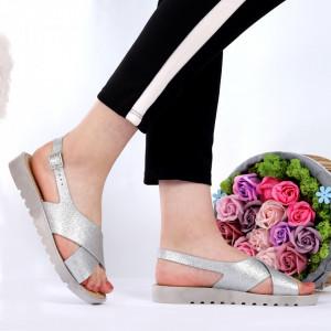 Sandale pentru dame cod GJ-32 Silver
