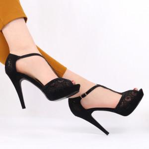 Sandale pentru dame cod H2027 Black