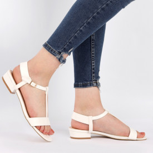 Sandale pentru dame cod OD0105 White