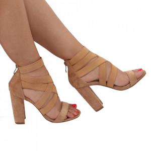Sandale pentru dame cod OD340 Beige