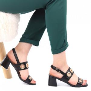 Sandale pentru dame cod SA1812 Black
