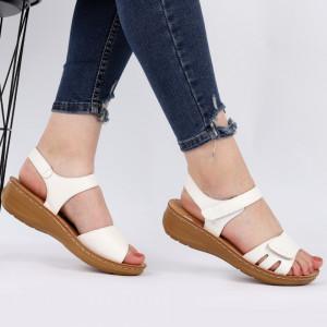 Sandale pentru dame cod TH0003 White
