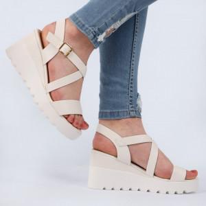 Sandale pentru dame cod YH-16 White