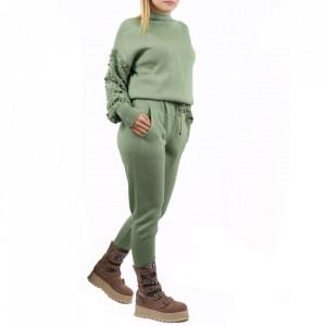 Trening tricot damă Verde