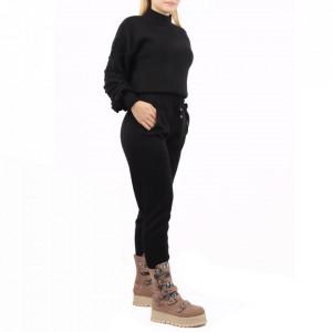 Trening tricotat damă Black