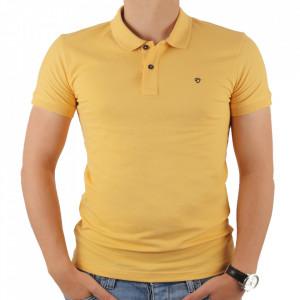 Tricou pentru bărbați cod 4002 Galben