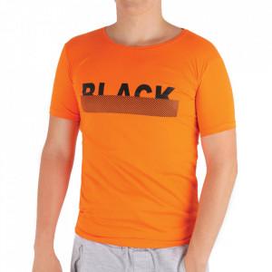 Tricou pentru bărbați Cod BLK99 Orange