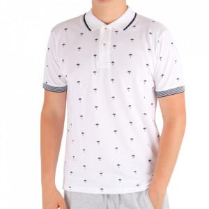 Tricou pentru bărbați Cod BP021 White