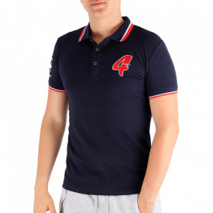 Tricou pentru bărbați Cod DA141 Navy