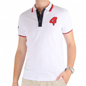 Tricou pentru bărbați Cod DA141 White