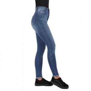 Pantaloni de blugi pentru dame cod 20-00 Albaștri