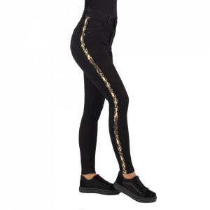 Pantaloni de blugi pentru dame cod 1947 Negri