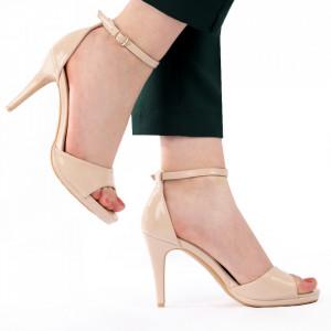 Sandale pentru dame cod L18 Bej