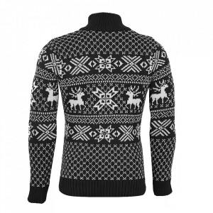 Bluză Aneris Remis Gri Închis - Bluza este cel mai versatil articol vestimentar din sezonul rece, o piesă cu reputaţie a stilului casual având compoziţia 50% lână 50% acrilic - Deppo.ro