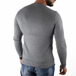 Bluză Felix Grey - Bluza simplă este cel mai versatil articol vestimentar din sezonul rece, o piesă cu reputaţie a stilului casual având compoziţia 50% Viscoză 28% PPTşi 22% Elastan - Deppo.ro