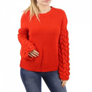 Bluză pentru dame cod F70 Orange