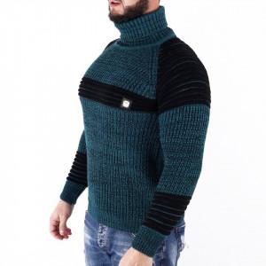 Bluză Roney Emerald - Bluza groasă perfectă pentru sezonul rece, o piesă cu reputaţie a stilului casual având compoziţia 70% material acrilic şi 30% lână - Deppo.ro