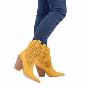 Botine Vanisa Yellow