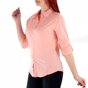 Cămașă pentru dame cod CR23 Pink - Cămașă pentru dame Conferă o ținută lejeră de vară - Deppo.ro