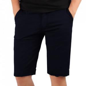 Pantaloni scurți pentru bărbați cod KS22-145 DarkBlue