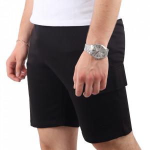 Pantaloni scurți pentru bărbați cod SM01 Black