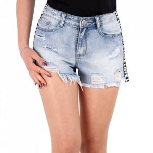 Pantaloni scurți pentru dame cod PS01 Blue