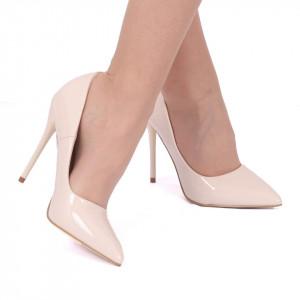 Pantofi Cu Toc Amari Bej