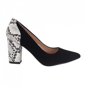 Pantofi cu toc cod 920-21A Black